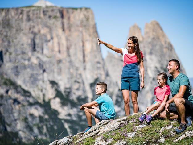 On a voyage of discovery in the Schlern-Rosengarten Nature Park with the children
