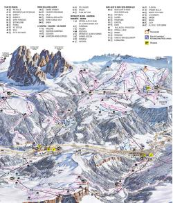 Top ski resort in the Dolomites Val GardenaAlpe di Siusi