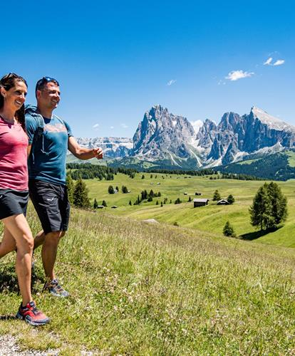 Hiking Holidays in the Dolomites, Alpe di Siusi, Italy