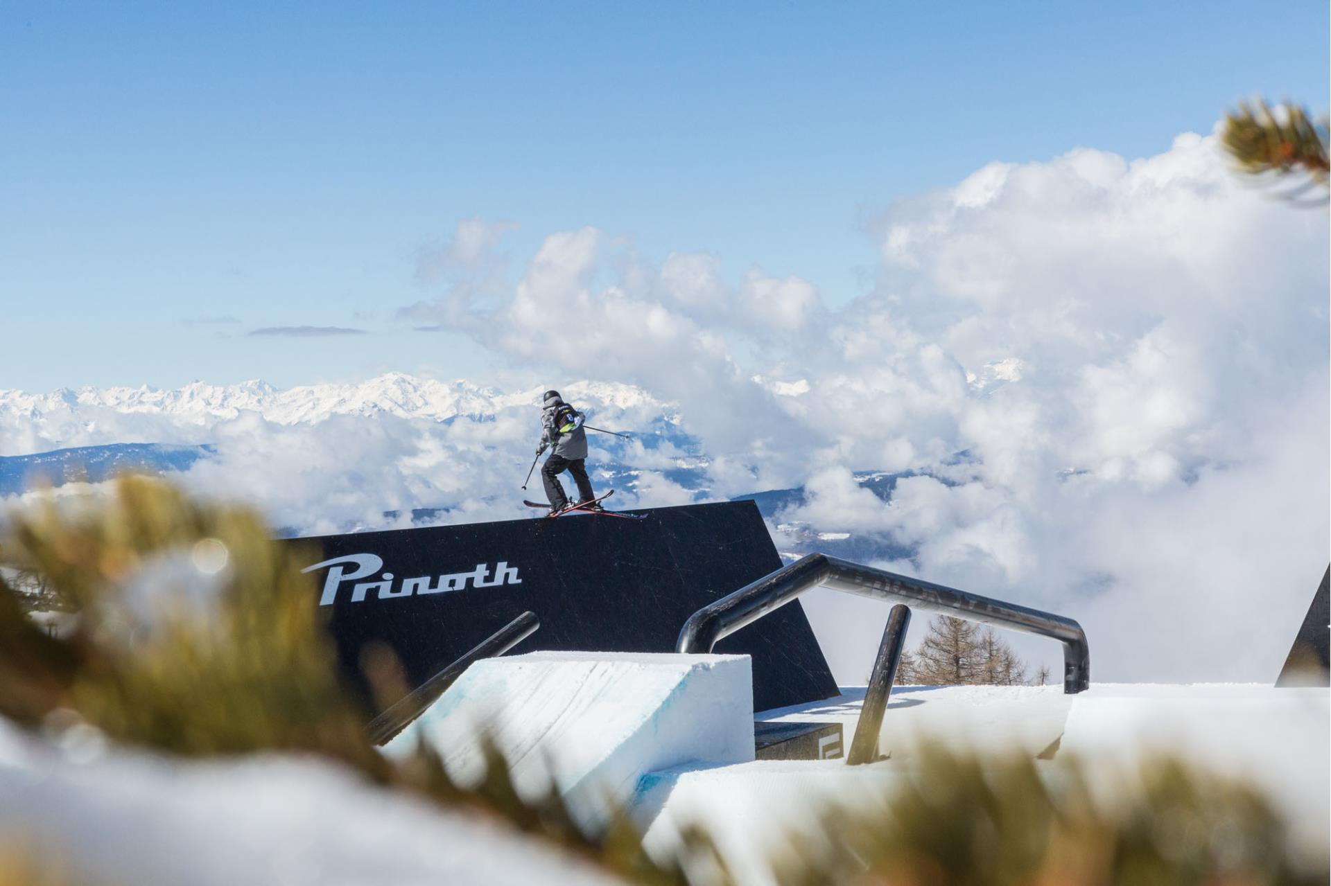 FIS World Cup Snowboard & Freestyle Ski on the Seiser Alm