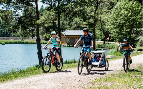 Cycling with kids - Family holiday South Tyrol