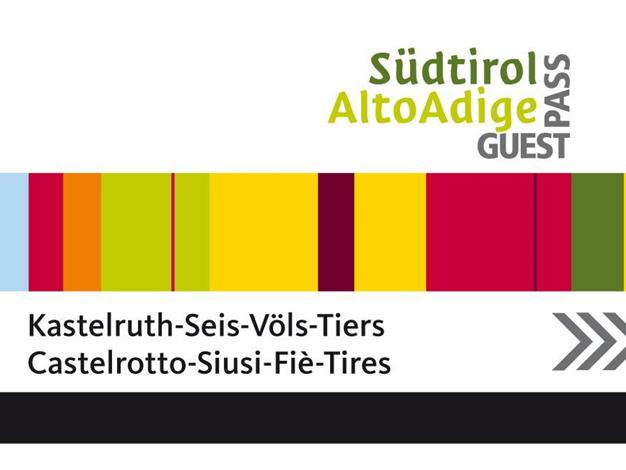 Free of charge with the South Tyrol Alto Adige Guest Pass in the holiday area Seiser Alm