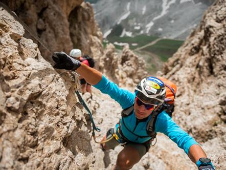 Climbing in the Dolomites - Climbing Tours in Italy