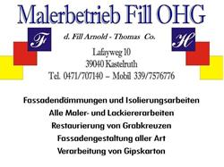 Malerbetrieb Fill OHG
