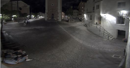 Castelrotto - village square