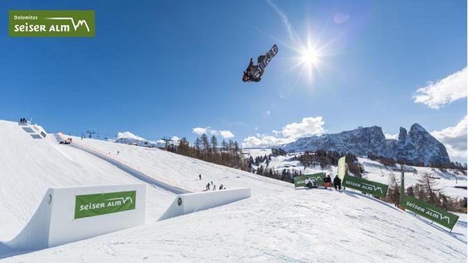 FIS Slopestyle World Cup - Seiser Alm
