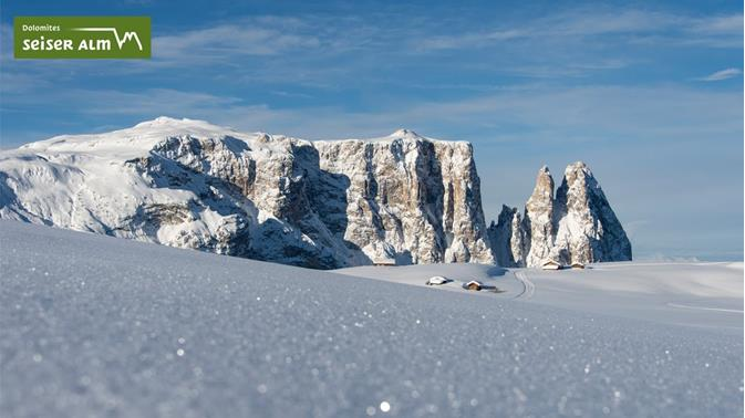 Winter fun in the Alpe di Siusi holiday area