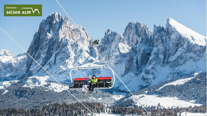 Cable cars and lift Seiser Alm
